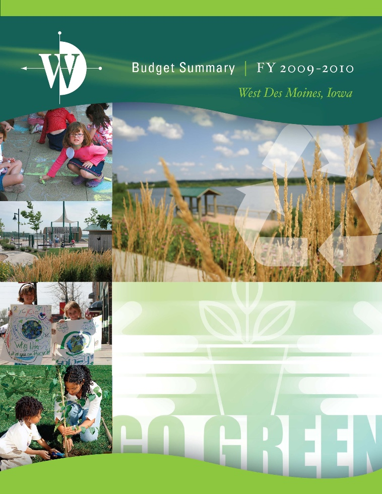 FY 2009-10 Budget Cover