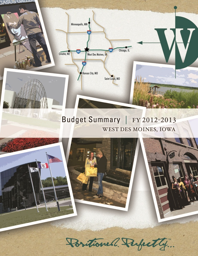 FY 12-13 Budget Cover