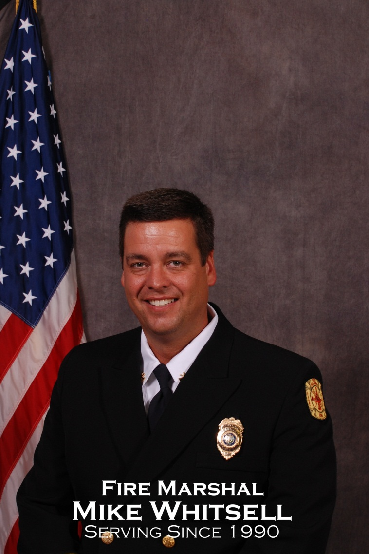 Fire Marshal Mike Whitsell