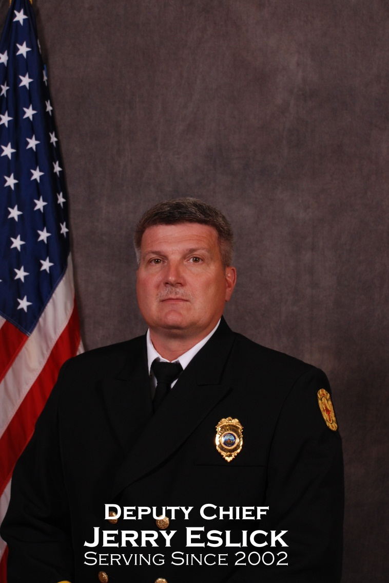 Deputy Chief of Training Jerry Eslick
