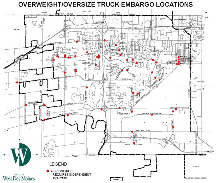 Traffic Codification Maps | West Des Moines, IA
