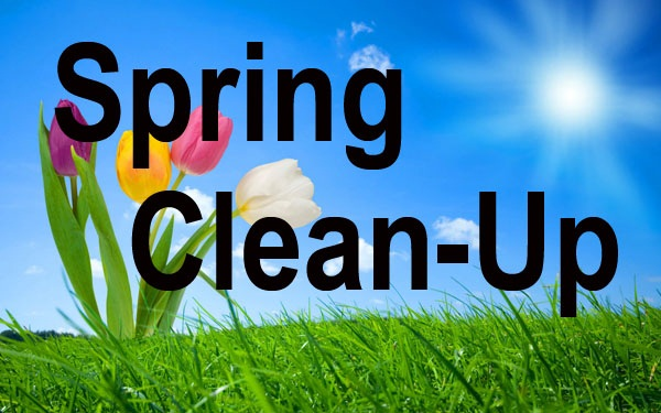 Spring CleanUp Button