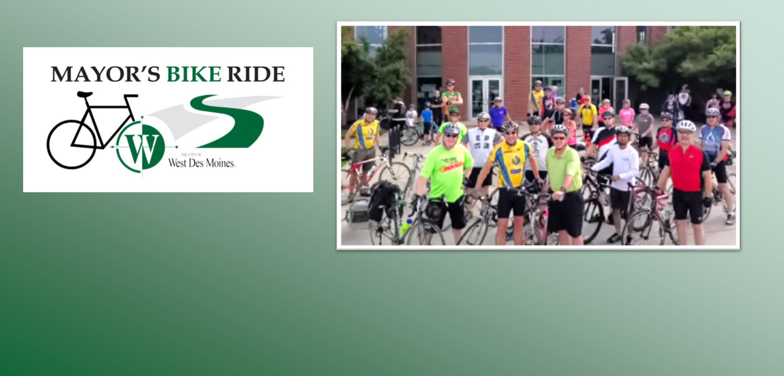 Join us for the Mayor's Bike Ride!