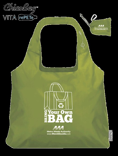 Bring your plastic bags to City Hall and get a FREE reusable bag!
