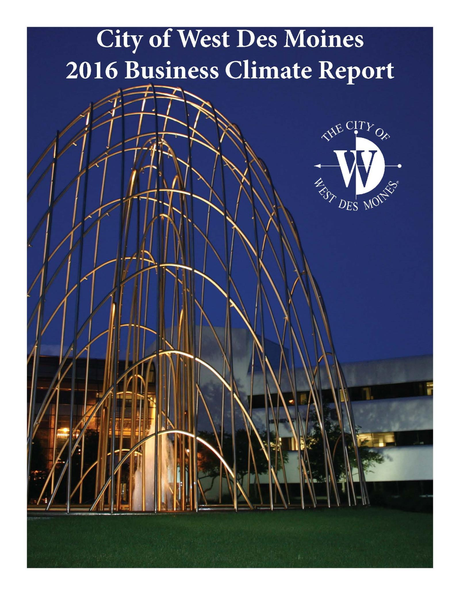 2016 Business Climate Report