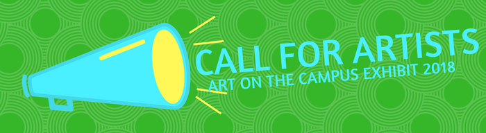 Apply today to be included in the 2018 Art on the Campus Exhibit
