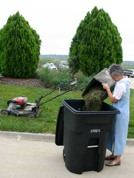 Curbside Yard Waste Conveniently Dispose