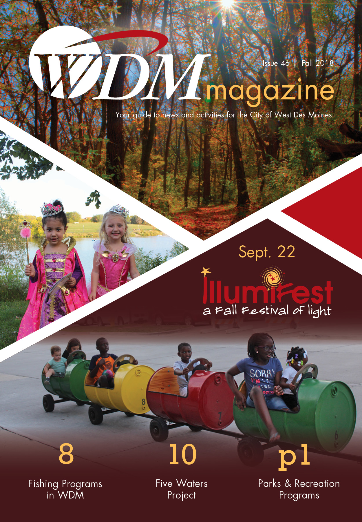 WDM magazine, Fall 2018, Issue46Cover