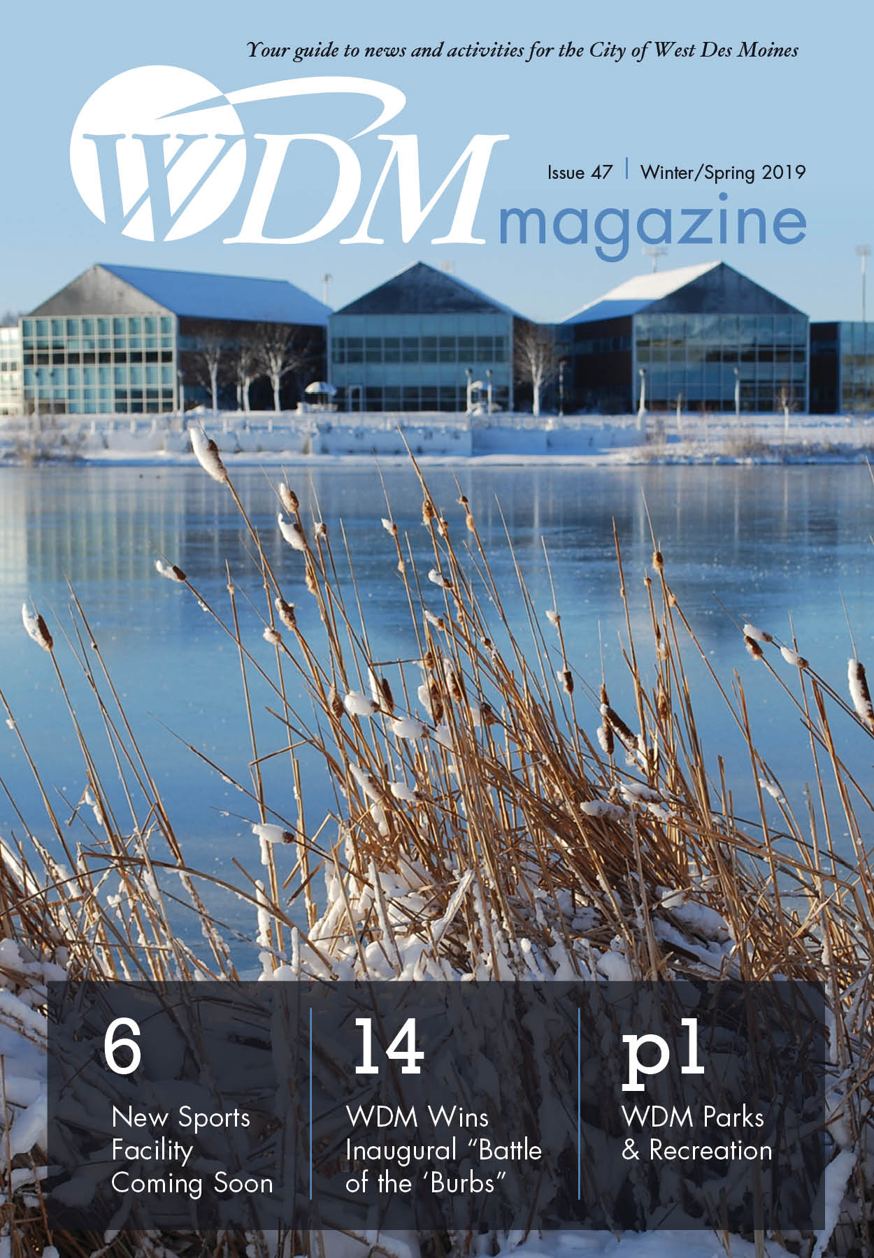 WDM magazine, Winter Spring 2019, Cover Image