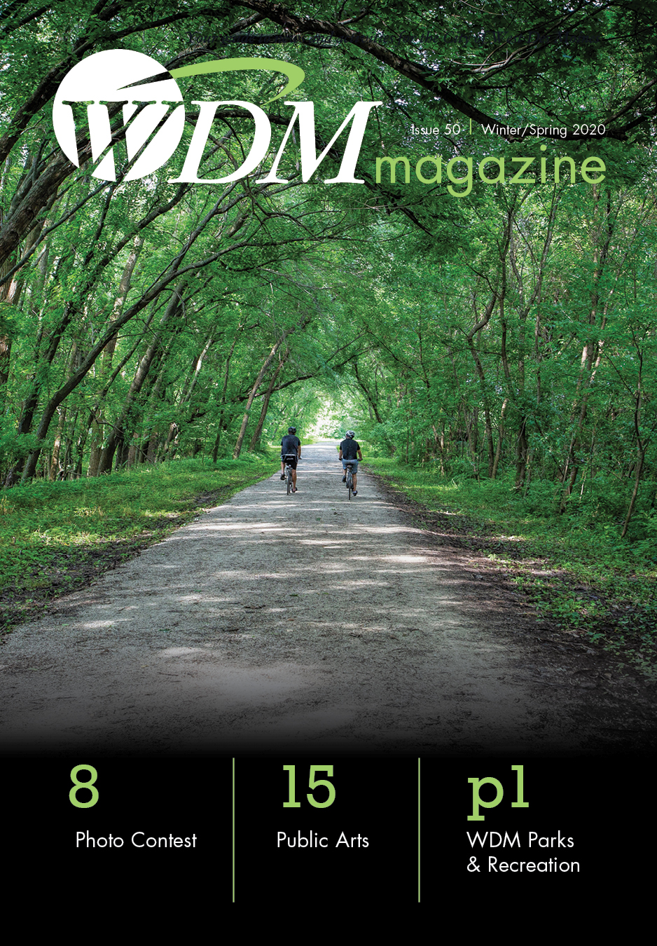 Cover image of the Winter Spring 2020 West Des Moines magazine