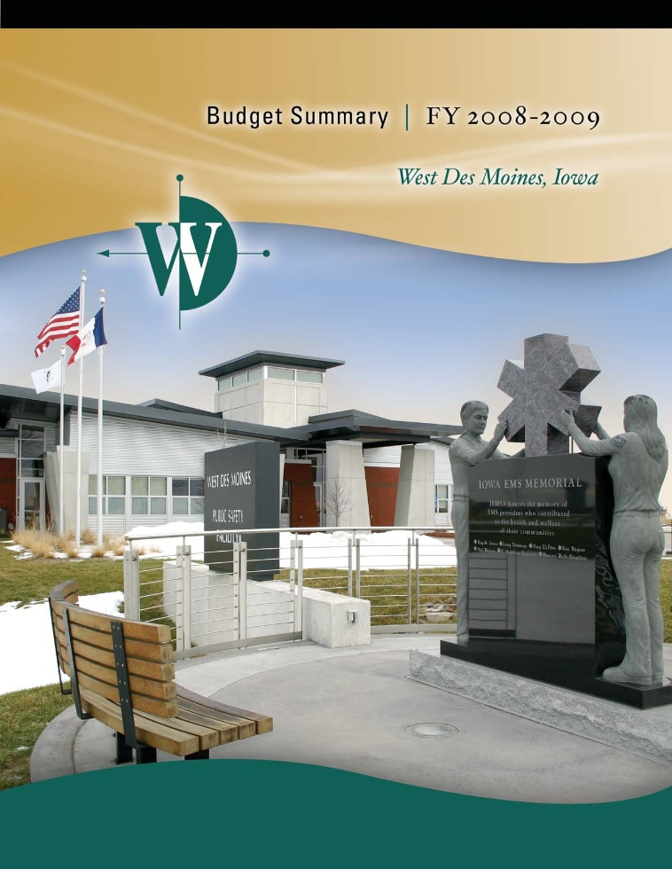 FY 2008-09 Budget Cover