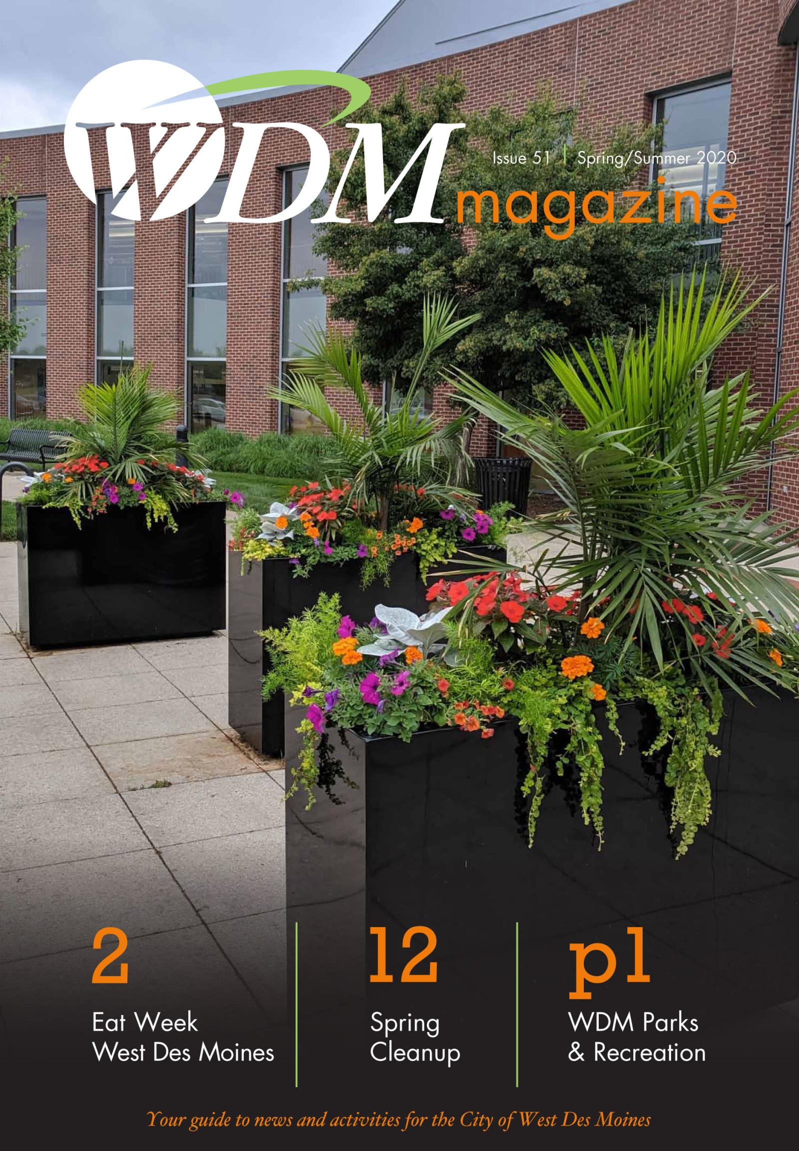 Cover image of theSpring Summer 2020 West Des Moines magazine