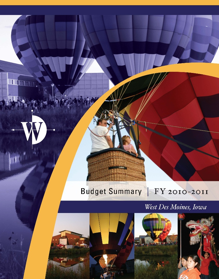 FY 2010-11 Budget Cover