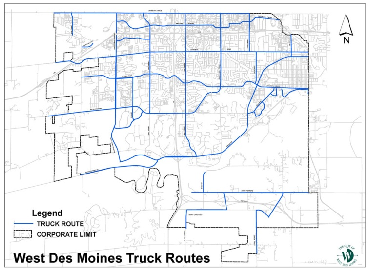 Traffic Codification Maps | West Des Moines, IA