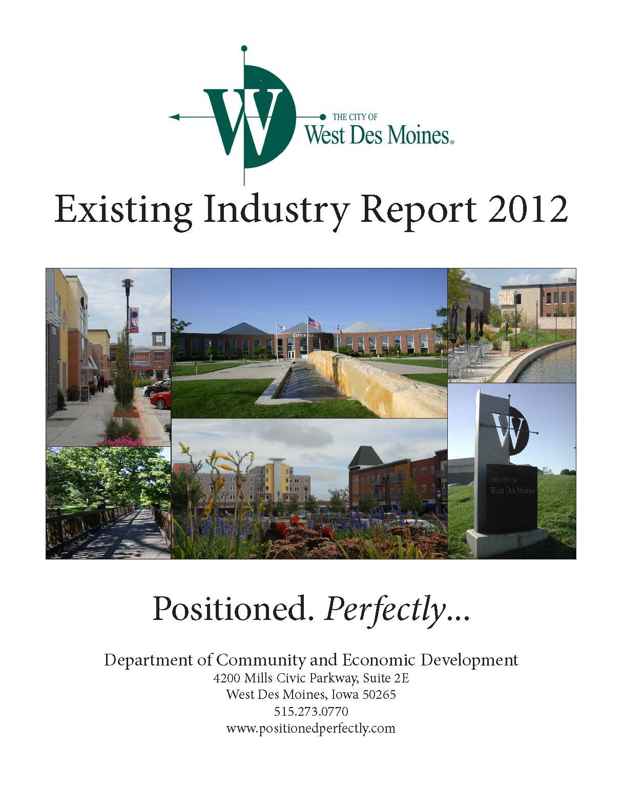 Existing Industry Report2012 Front Cover