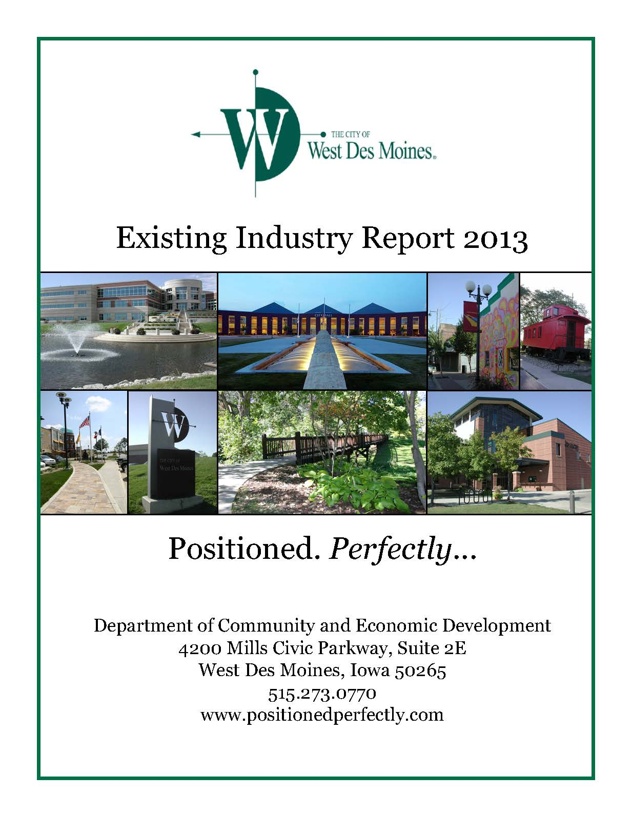 Existing Industry Report2013COVER