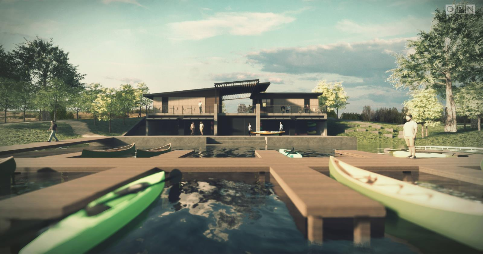 Boathouse Lakeside