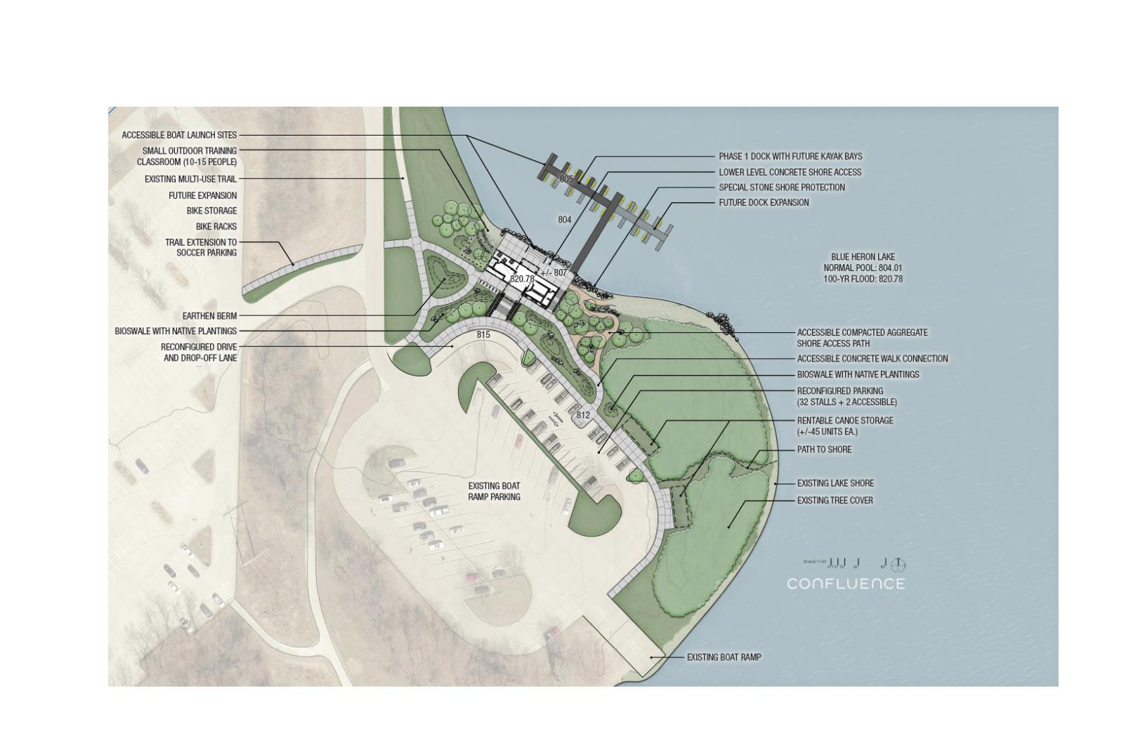 Boathouse Site Plan
