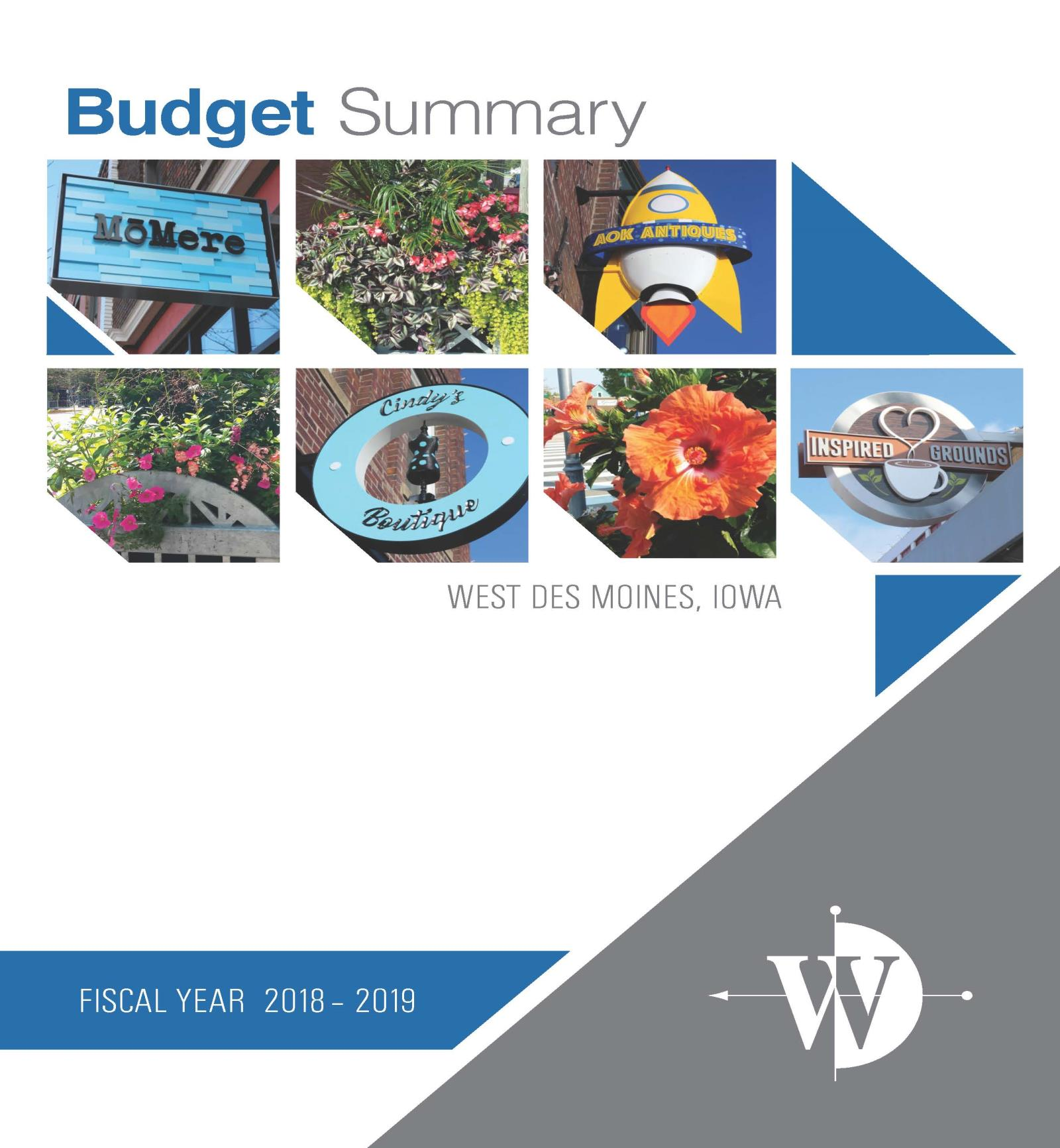 budget cover 18-19