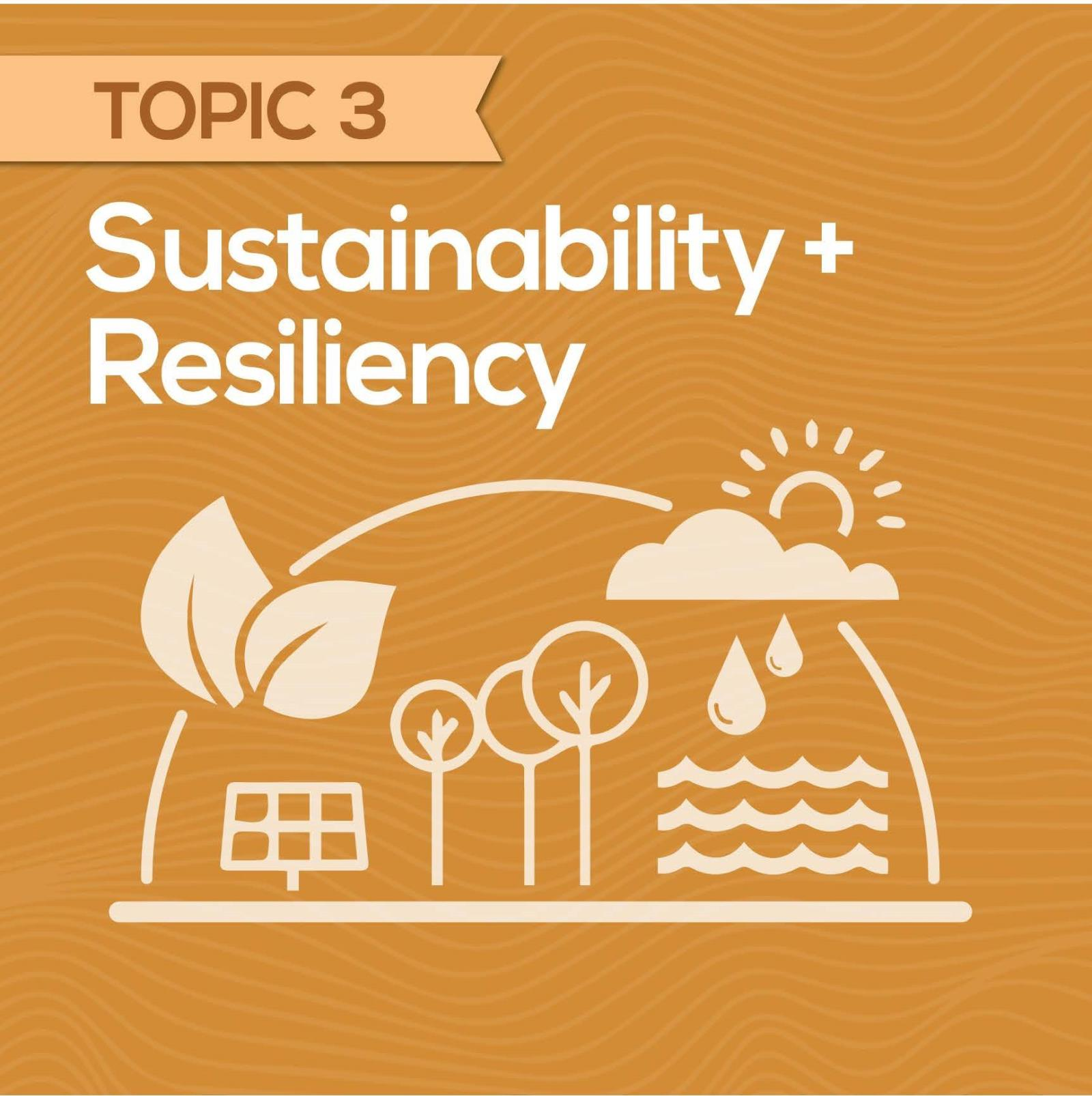 Sustainability & Resiliency Tile