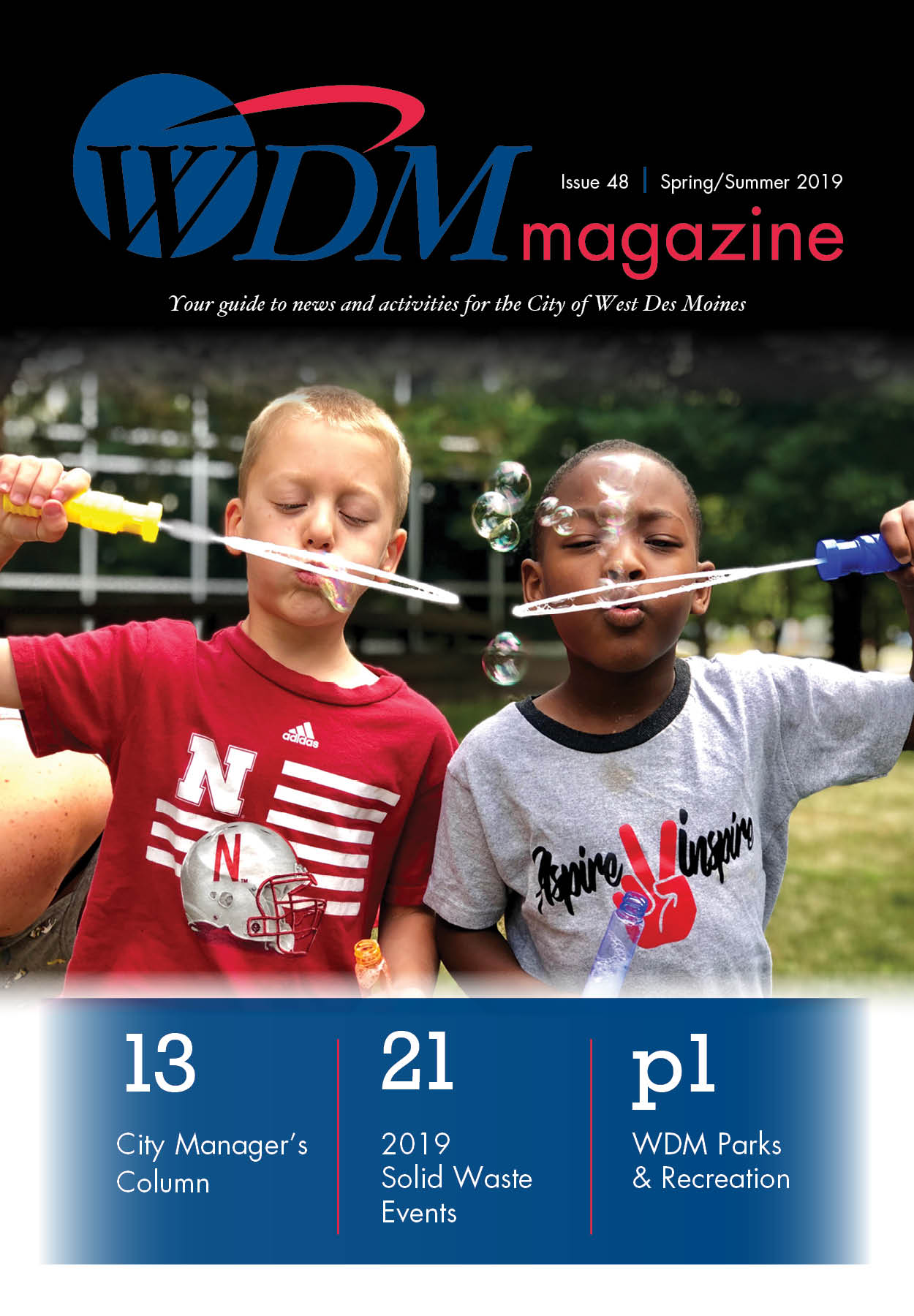WDM magazine, Spring Summer 2019, Cover Image