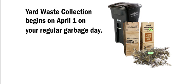 yard waste collection season