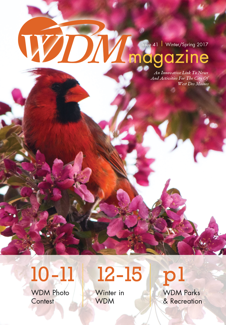WDMmagcover_41, Winter/Spring 2016